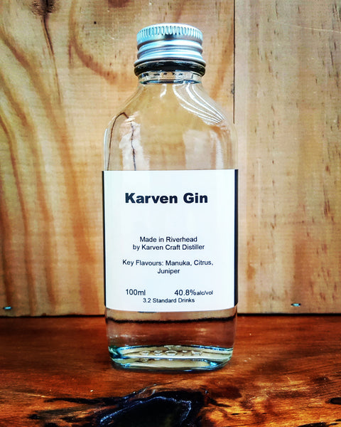 Karven Gin 100ml Sample 40.8% - Craftginconz
