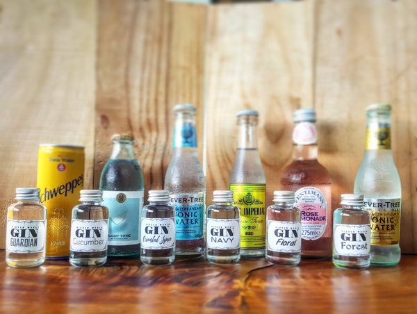 Gin and Tonic Tasting 6 Pack - GinZealand