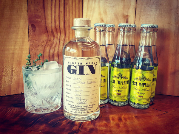 Navy Gin and East Imperial Yuzu Tonic - GinZealand