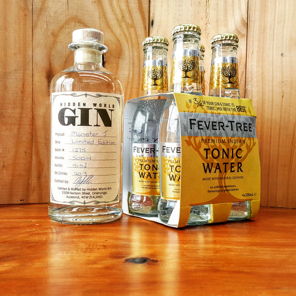 Monster J - Gin & Tonic pack - GinZealand