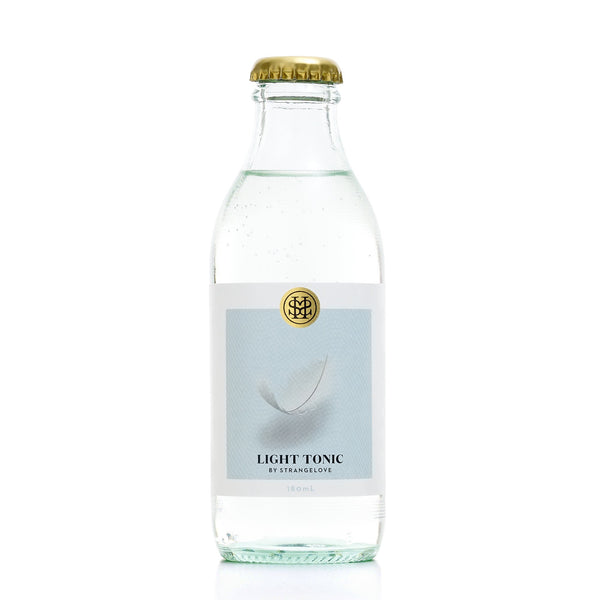 StrangeLove Light Tonic Water 24 x 180ml bottle case - GinZealand