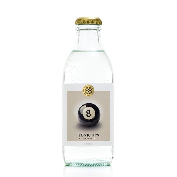 StrangeLove No. 8 Tonic water 180ml case/24 - GinZealand