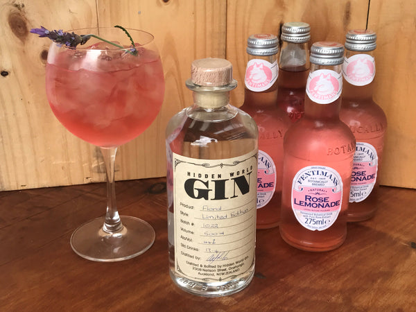 Floral Gin and Rose Lemonade Pack - GinZealand