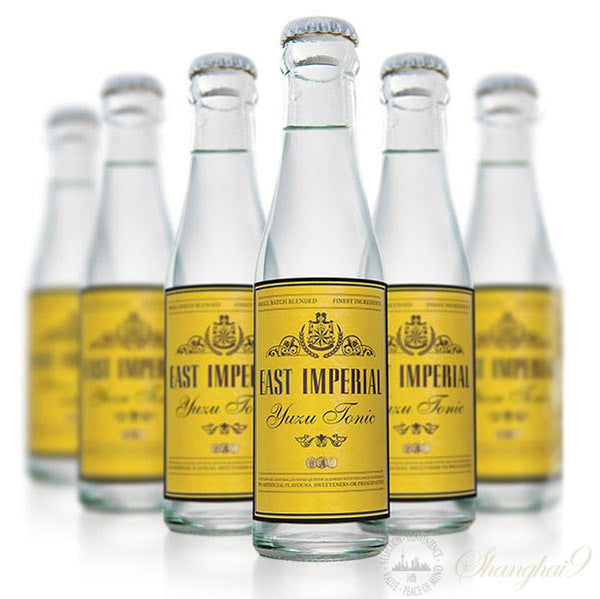 East Imperial Yuzu Tonic Water 24 x 150ml bottle case - GinZealand