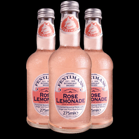 Fentimans Rose Lemonade 24 x 125ml bottle case - GinZealand