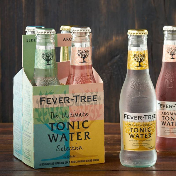 Fever Tree Tonic Variety Pack - 6 x 4 packs 200ml - Craftginconz