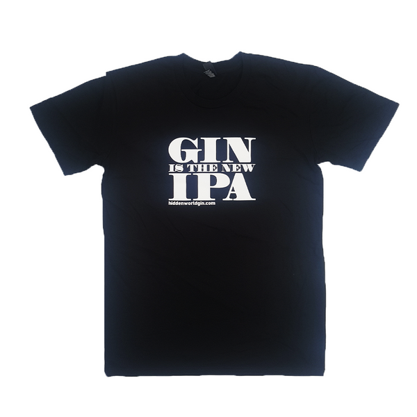 "Ladies T-Shirt ""Gin Is The New IPA - Craftginconz"