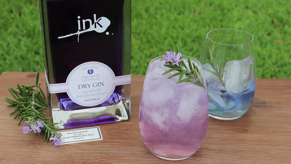 Ink Gin (Turns Blue to Pink With Tonic)- 700ml - GinZealand