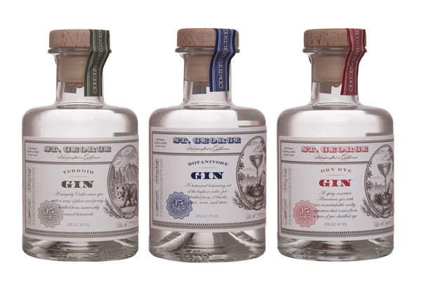 St George Triple Pack - 3 x 200ml Samplers - GinZealand