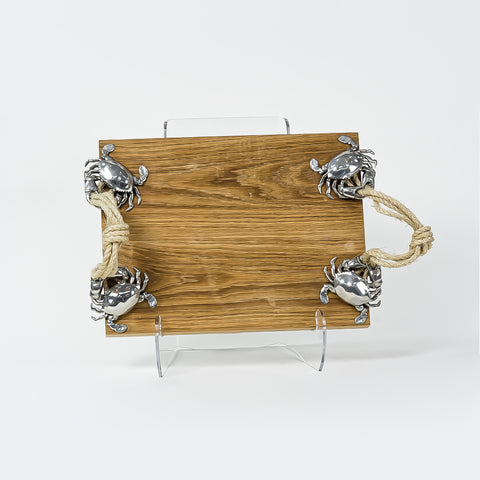 Vagabond House Crab & Rope Serving Tray