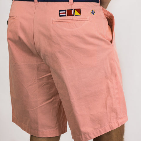 Signature CBO Shorts w/Embroided Nautical Flags