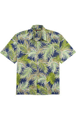 Frond of You Button Down Short Sleeve