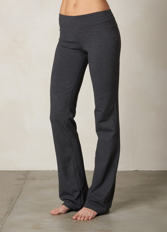 Wide Band Solid Pant - Charcoal - 6