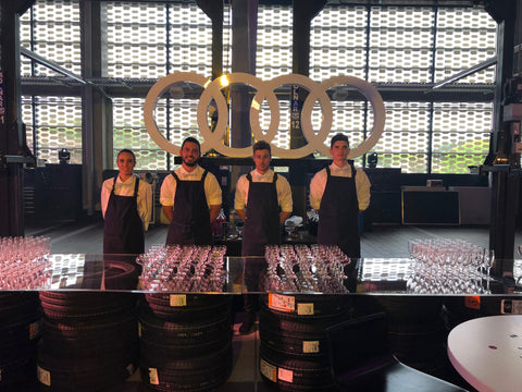 Mobile Bar for Audi Sydney's Christmas Party