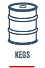 Keg delivery for private and commmercial use Melbourne & Sydney