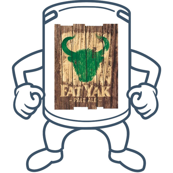 Fat Yak Pale Ale <br> 50lt Keg