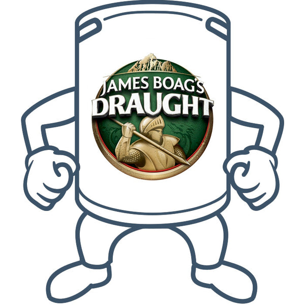 James Boags Draught <br>50lt Keg