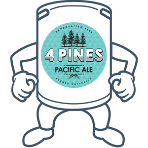 4 Pines Pacific Ale <br>50lt Keg