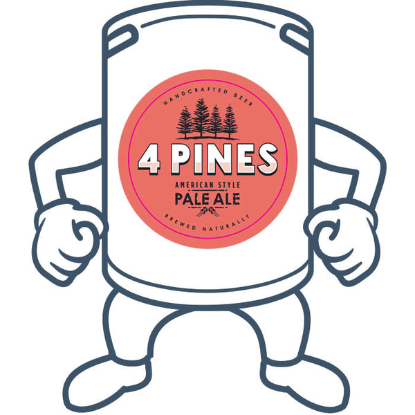 4 Pines Pale Ale <br>50lt Keg