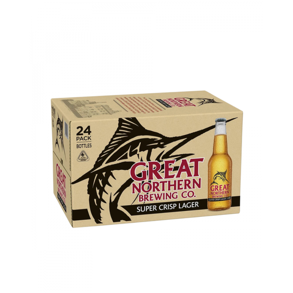 Great Northern Super Crisp Lager<br>Case of 24