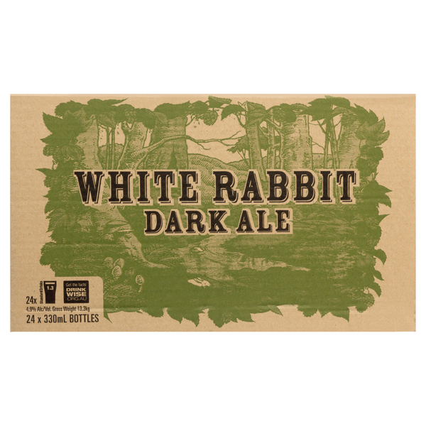 White Rabbit Dark Ale<br>Case of 24