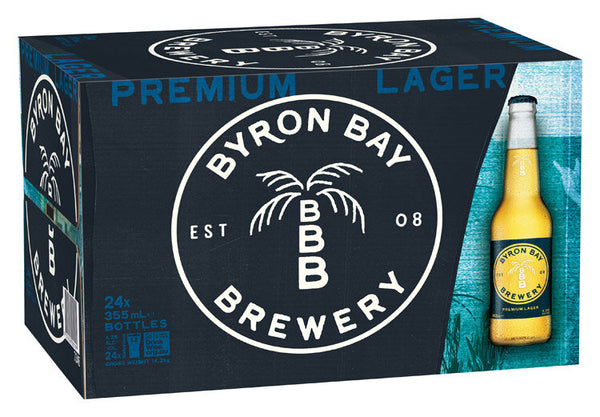 Byron Bay Premium Lager<br>Case of 24
