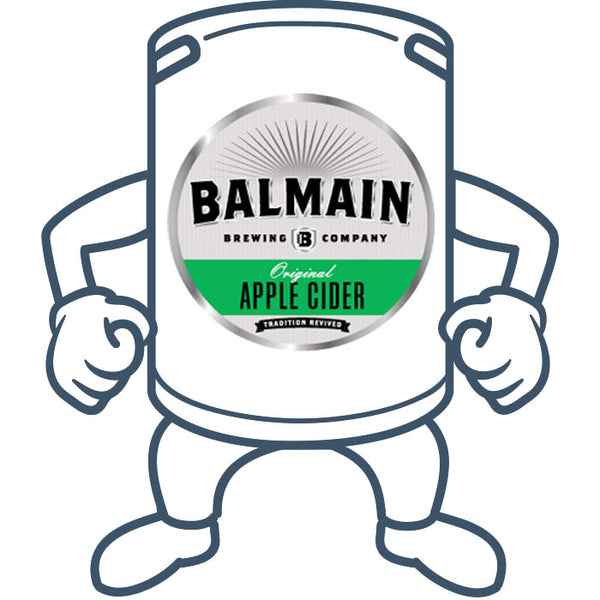 Balmain Brewing Original Apple Cider <br>50lt Keg