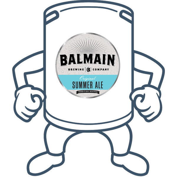 Balmain Brewing Original Summer Ale <br>50lt Keg