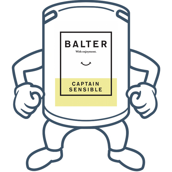 Balter Captain Sensible <br>50lt Keg
