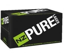 NZ Pure Lager<br>Case of 24