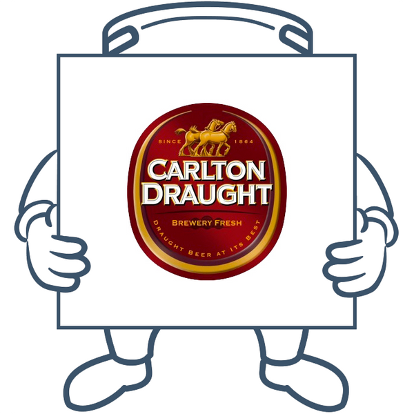 Carlton Draught<br>Double Keg + Dispensing System Pack