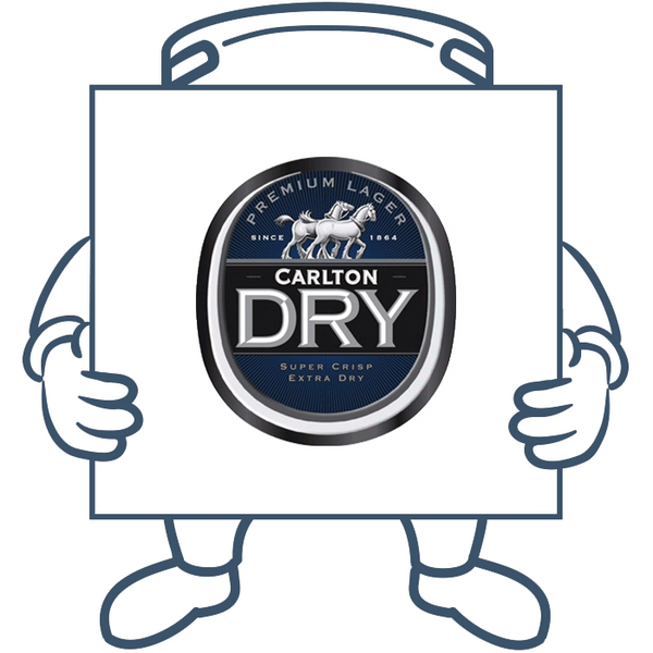 Carlton Dry <br>Keg + Dispensing System Pack