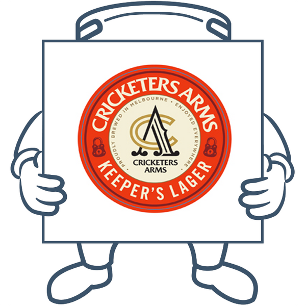 Cricketers Arms Keeper's Lager <br> Keg + Dispensing System Pack