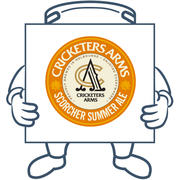 Cricketers Arms Scorcher Summer Ale <br> Keg + Dispensing System Pack
