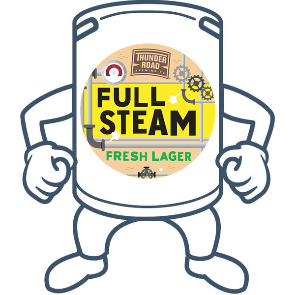 Thunder Road Full Steam Pale Lager<br>50lt Keg