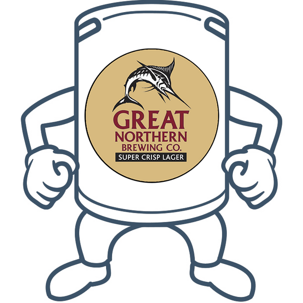 Great Northern Brewing Super Crisp Lager <br> 50lt Keg