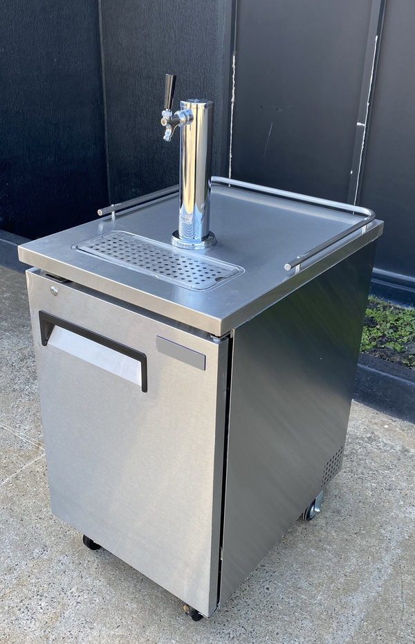 Commercial Quality Single Door Single Tap Keg Fridge Complete Package