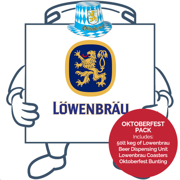 Lowenbrau Original <br>Oktoberfest Keg + Dispensing System Pack