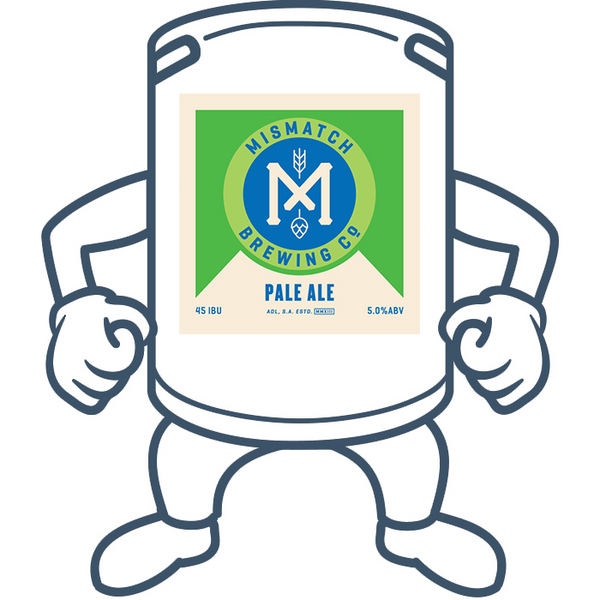 Mismatch Brewing Pale Ale <br>50lt Keg