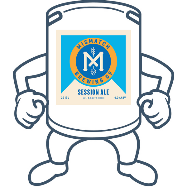 Mismatch Brewing Session Ale <br>50lt Keg