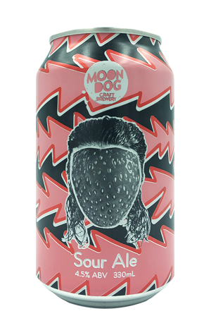 Moon Dog Jean-Strawb Van Damme Strawberry Sour<br>Case of 16