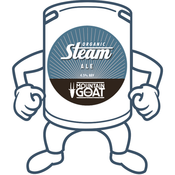 Mountain Goat Steam Ale <br>50lt Keg