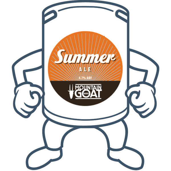 Mountain Goat Summer Ale <br>50lt Keg (Limited Stock Available)