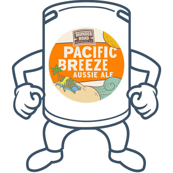Thunder Road Pacific Breeze Aussie Ale<br>50lt Keg