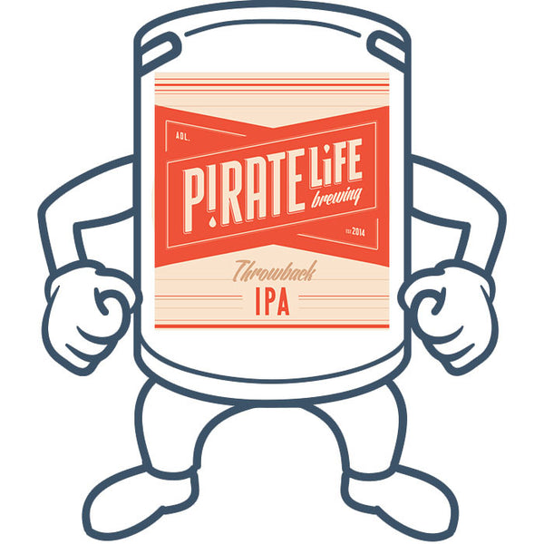 Pirate Life Throwback Session IPA <br>50lt Keg