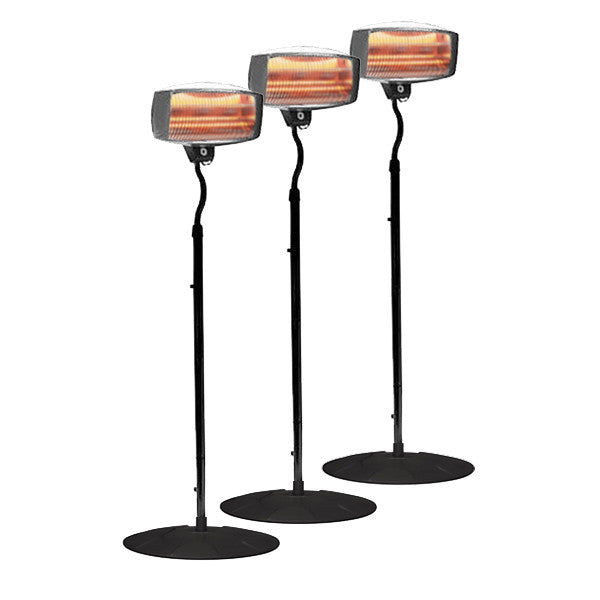 Radiant Heater Pack 3
