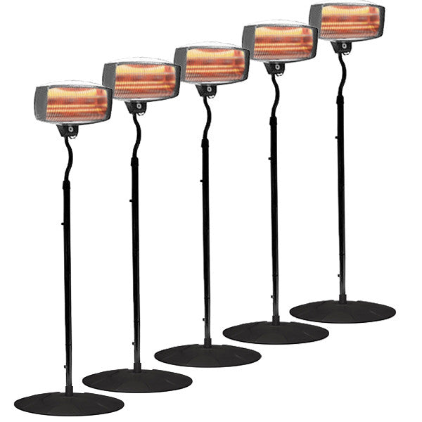 Radiant Heater Pack 5