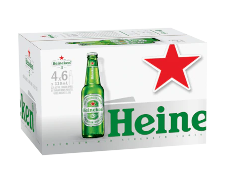Heineken 3<br>Case of 24