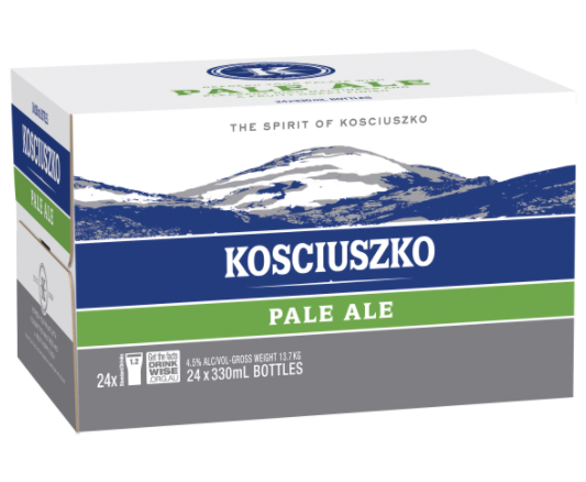 Kosciuszko Pale Ale<br>Case of 24