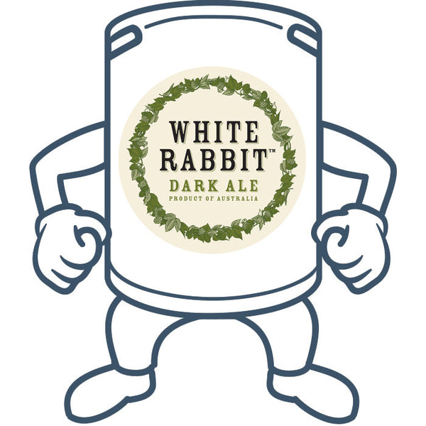 White Rabbit Dark Ale <br>50lt Keg